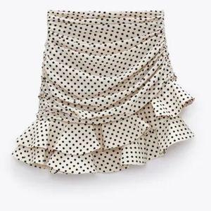 ISO Zara polka dot skirt not for sale